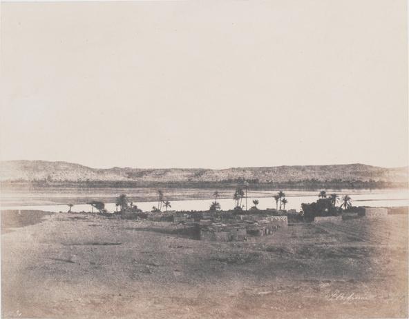 John Buckley Greene-Village de Ghirché, Nubie