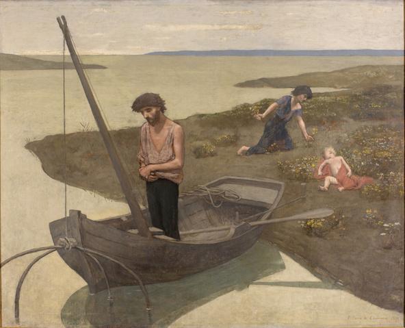 Pierre Puvis de Chavannes -Le pauvre pêcheur