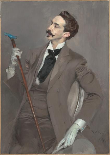 Giovanni Boldini-Le comte Robert de Montesquiou