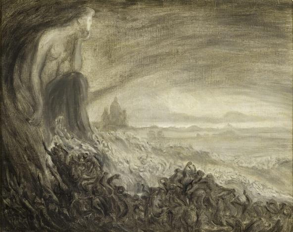 Théophile Alexandre Steinlen-Vision de Paris