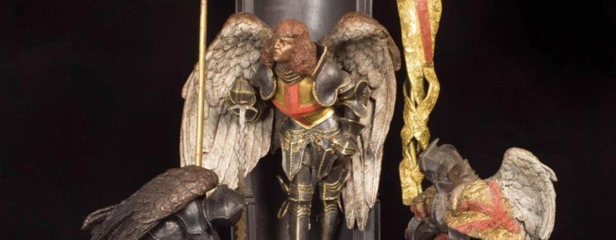 La Lampe dite de Saint Michel (1832), Félicie de Fauveau