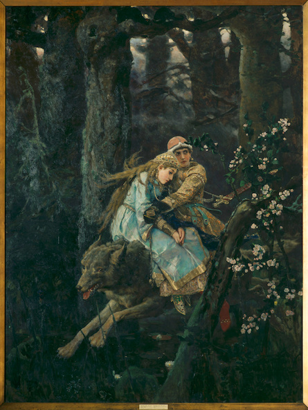Victor Vasnetsov-Ivan Tsarevitch et le loup gris
