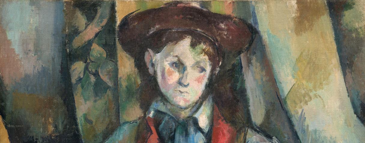 Le garçon au gilet rouge (1888-1890), Paul Cézanne
