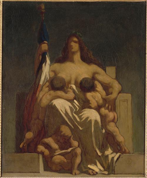 La République (en 1848), Daumier, Honoré