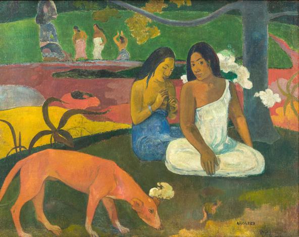 Paul Gauguin-Arearea dit aussi Joyeusetés