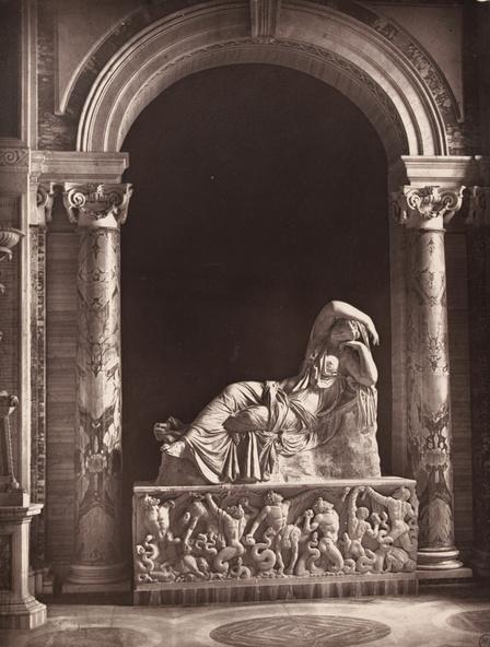 Stephen Thompson-Ariane endormie (Vatican, Rome), planche 18 de l'ouvrage Masterpieces of Antique Art, édité par Griffith and Farran à Londres