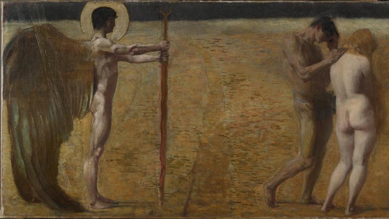 L'Expulsion du Paradis, Stuck, Franz von