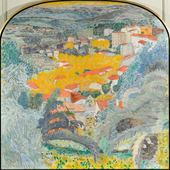 Pierre Bonnard-Vue du Cannet