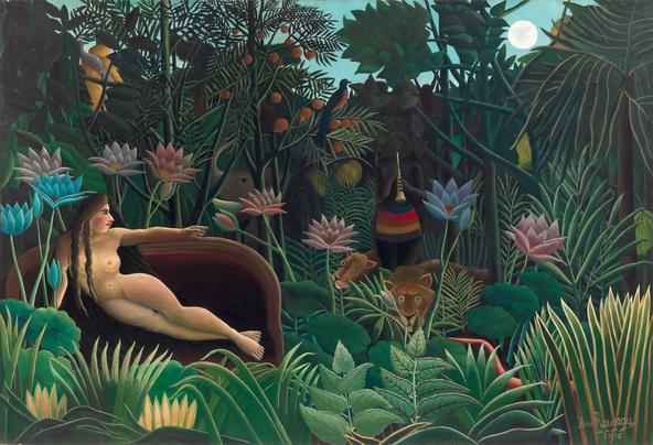 Henri Rousseau-Le rêve