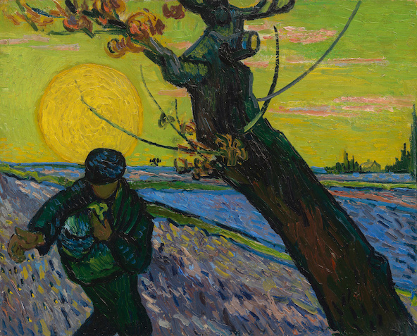 Vincent van Gogh-Le Semeur