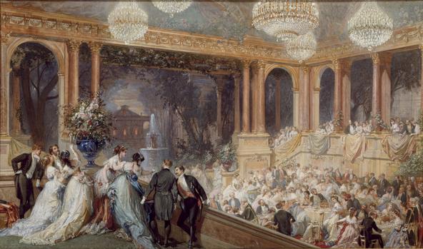 Henri Baron-Fête officielle au palais des Tuileries pendant l'Exposition Universelle de 1867