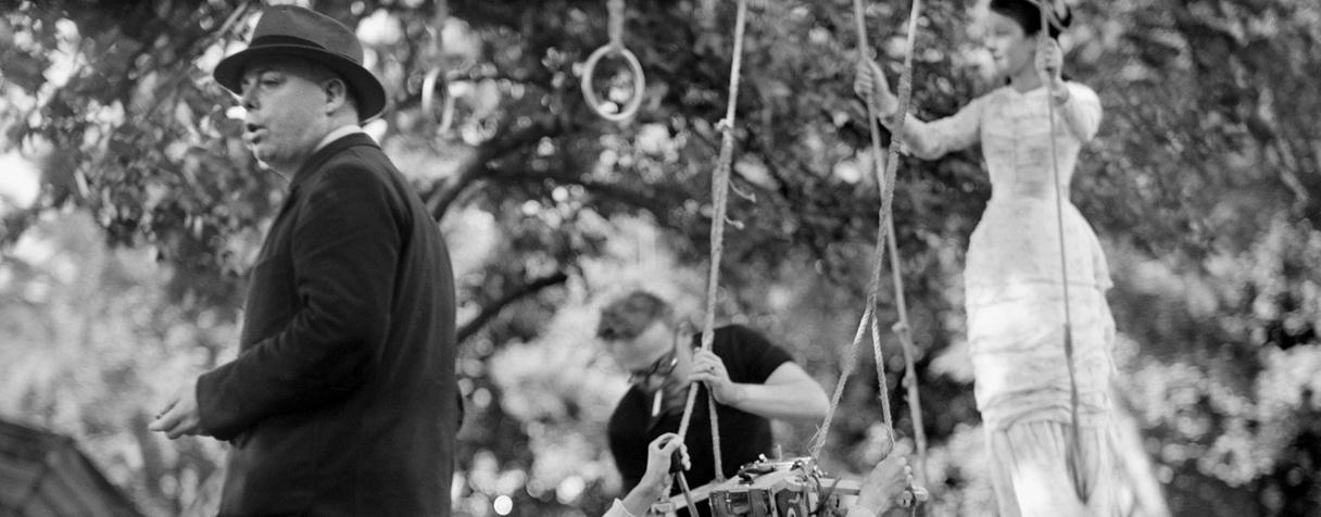 """Tournage du film de Jean Renoir """"Une partie de campagne"""", Eli Lotar"""
