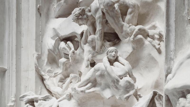 Porte de l'Enfer, Rodin, Auguste