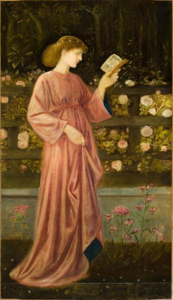 Edward Burne-Jones-Princesse Sabra