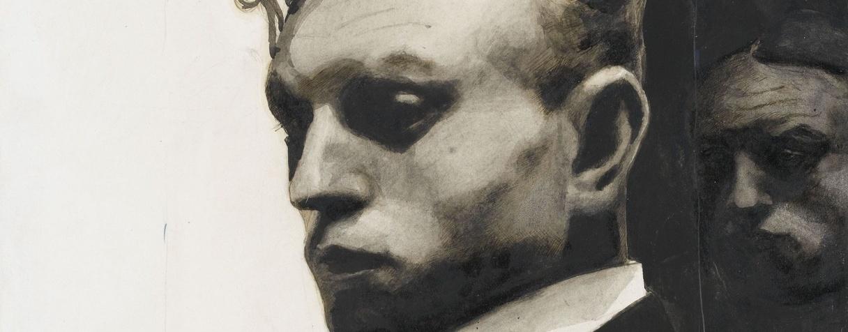 Portrait de l'artiste par lui-même (1903), Léon Spilliaert