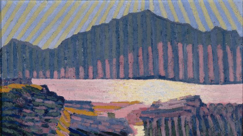 Vue de Capolago (Vers 1907), Giacometti, Giovanni