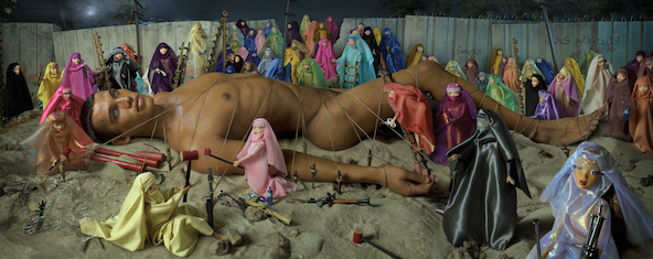 David LaChapelle-Would-Be Martyr and 72 virgins