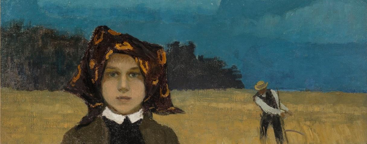 Jeune paysanne (Vers 1904), Johann Walter