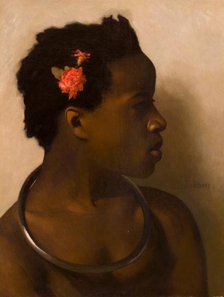 Jean-Léon Gérôme-Etude d'après un modèle féminin pour A vendre, esclaves au Caire