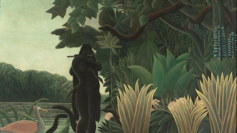 La Charmeuse de serpents, Rousseau, Henri