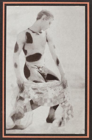 Adolf De Meyer-Nijinsky