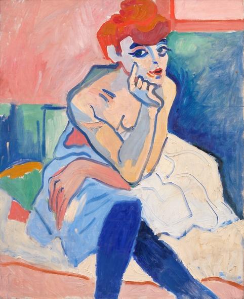 André Derain-La femme en chemise ou Danseuse