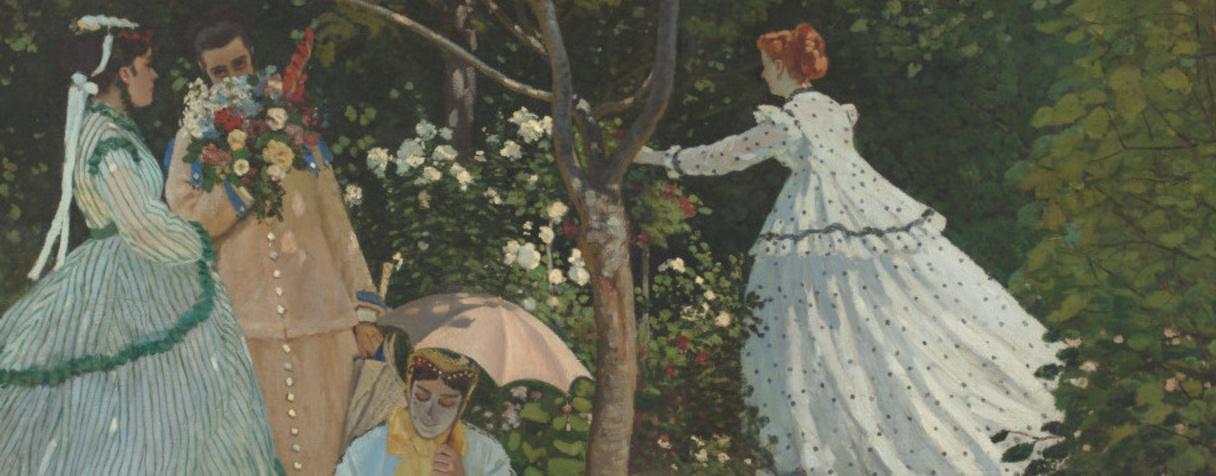 Femmes au jardin (Vers 1866), Monet, Claude