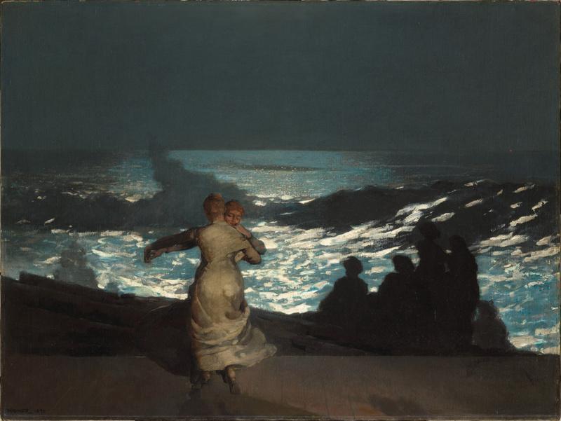 Nuit d'été (en 1890), Homer, Winslow