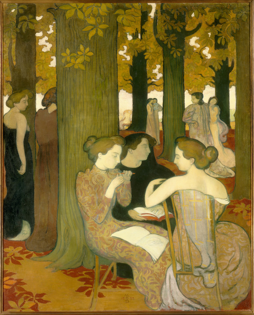 Les Muses (en 1893), Denis, Maurice