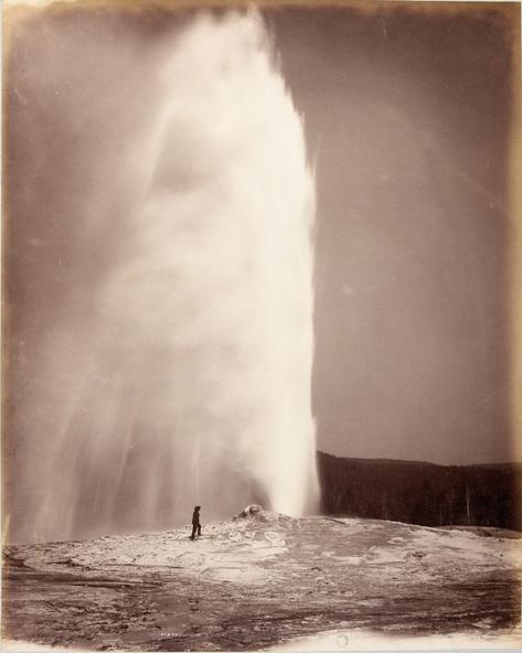 William Henry Jackson-Old Faithfull, Yellowstone