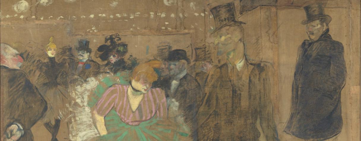 Panneau pour la baraque de la Goulue, à la Foire du Trône à Paris, Henri de Toulouse-Lautrec, Toulouse-Lautrec, Henri de