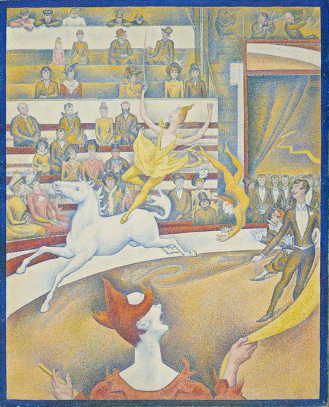 Georges Seurat-Le cirque