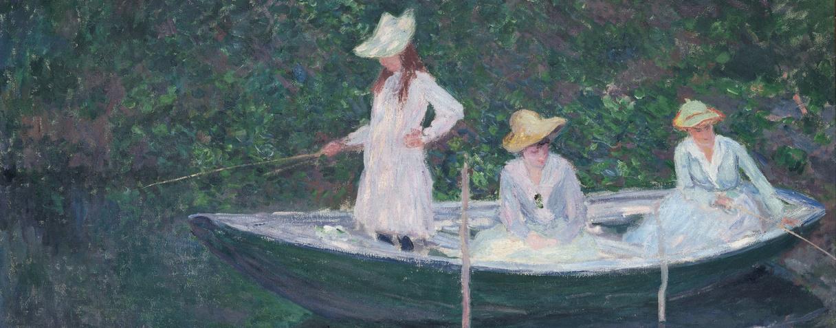 En norvégienne, Monet, Claude