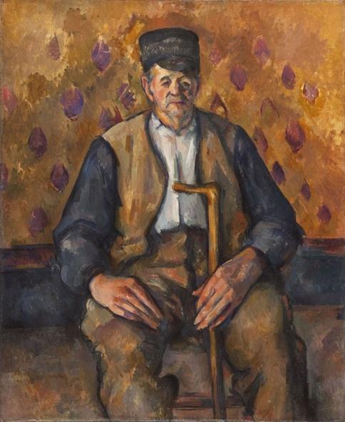 Cézanne, Paul-Paysan assis