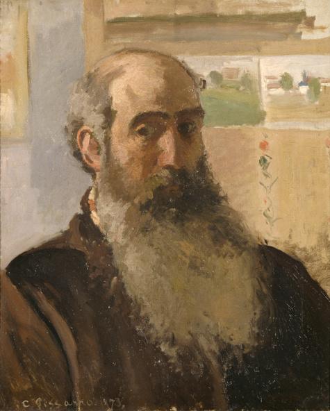Camille Pissarro-Portrait de l'artiste
