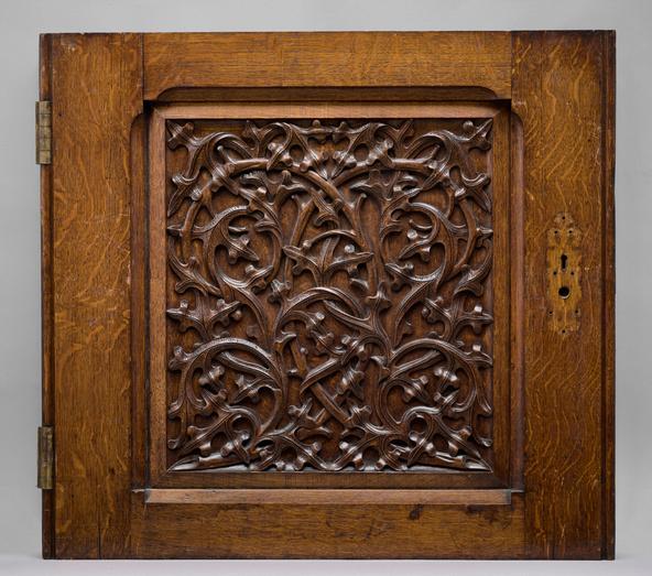 Augustus Pugin-Panneau de porte provenant du nouveau palais de Westminster