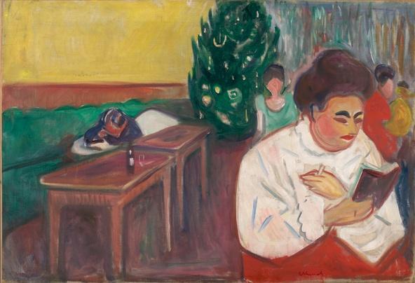 Edvard Munch-Noël au bordel