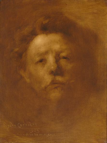 Eugène Carrière-Portrait de l'artiste