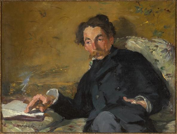 Edouard Manet-Stéphane Mallarmé