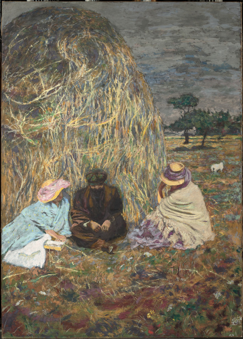 La meule (détail) (entre 1907 et 1908), Vuillard, Edouard, Vuillard Edouard (1868-1940) peintre, photographe,