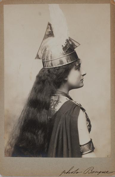 Wilhem Benque-Lucienne Bréval de l'Opéra en Walkyrie