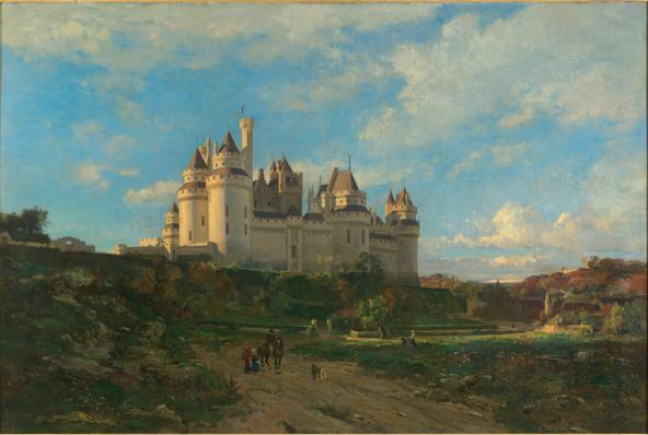 Emmanuel Lansyer-Le château de Pierrefonds