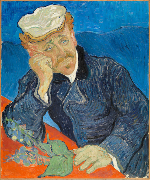 Vincent van Gogh-Le docteur Paul Gachet