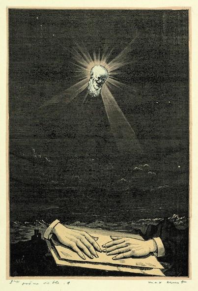 Max Ernst-Collage tiré de Une semaine de bonté. Deuxième poème visible 1