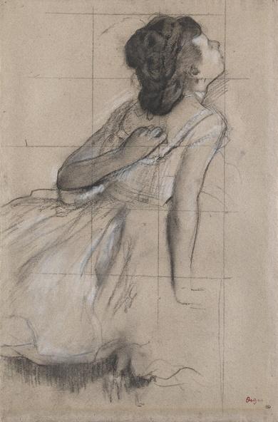 Cappiello, Leonetto-Danseuse vue de profil vers la droite ou Danseuse se grattant le dos