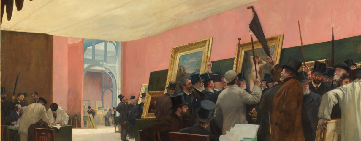 Une scéance du jury de peinture (Avant 1885), Gervex, Henri
