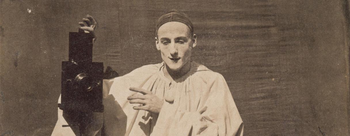 Pierrot Photographe (en 1854), Nadar, Félix|Tournachon, Adrien