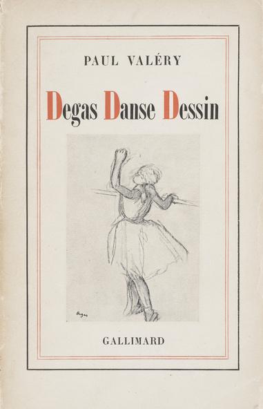 Couverture Degas Danse Dessin. Editions Gallimard