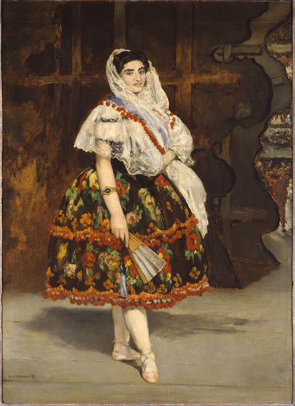 Edouard Manet-Lola de Valence