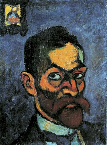Sándor Ziffer-Autoportrait